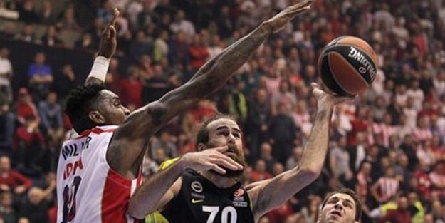 Fenerbahçe Sırbistan'da şov yaptı