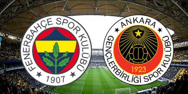 Fenerbahçe, Süper Lig'de Gençlerbirliği'ni konuk edecek