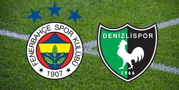 Fenerbahçe, Süper Lig'de yarın sahasında Denizlispor ile karşılacak