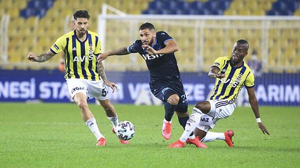 Fenerbahçe Trabzonspor maçı kaç kaç bitti?