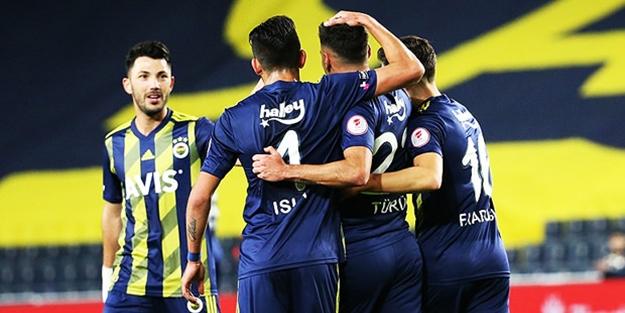 Fenerbahçe Türkiye Kupası'nda avantajı kaptı!