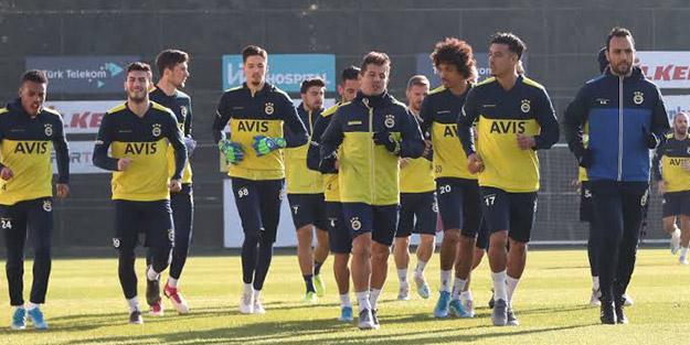 Fenerbahçe'de Beşiktaş derbisi hazırlıkları başladı