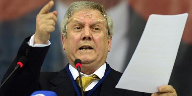 Fenerbahçeli futbolcudan Aziz Yıldırım'a küfür!