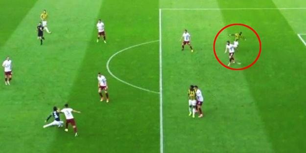 Fenerbahçe'nin golünde Trabzonluları çıldırtan hata!