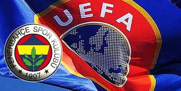 UEFA'dan Fenerbahçe'ye büyük şok!