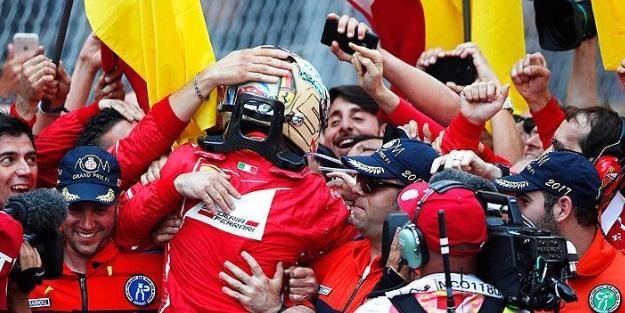 Ferrari 16 yıl sonra kazandı