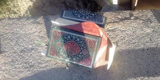 FETÖ'cü hainler Kuran'ı bile yerlere atmış!