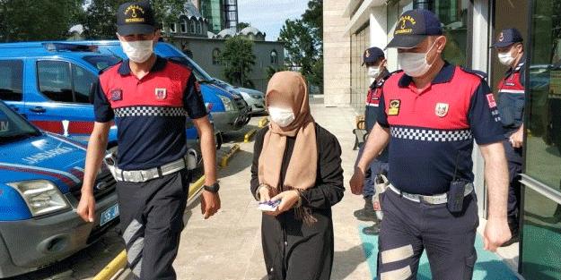 FETÖ'den gözaltına alınan kadın çıkarıldığı mahkemece tutuklandı
