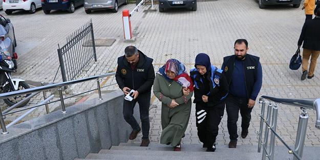 Terör örgütünün İl Milli Eğitim Sorumlusu kadın yakalandı