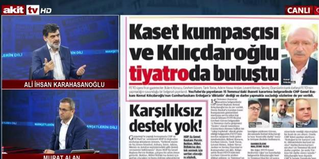 FETÖ'nün piyonu Kılıçdaroğlu cevap ver! Akın Öztürk bombalama emri verdiğinde ne yapacaktın?