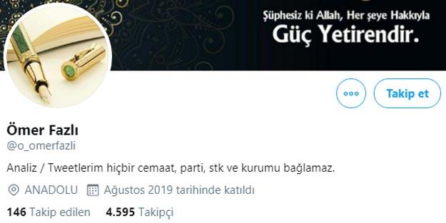 FETÖ'nün yeni Fuat Avni'sinden Türkiye ve Cumhurbaşkanı Erdoğan hakkında alçak sözler!