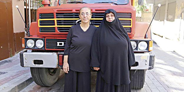 FETÖ'ye kamyonla meydan okuyan kadın