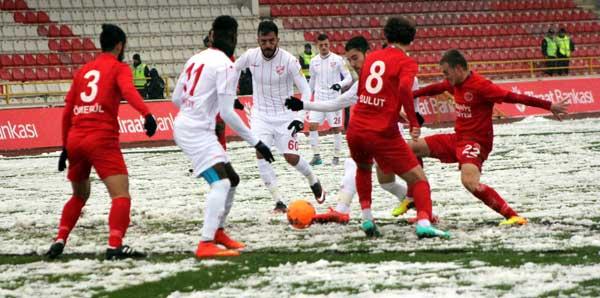 Boluspor rakibini 1-0 mağlup etti