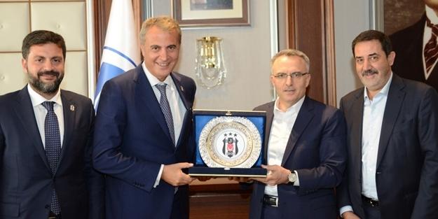 FİKRET ORMAN'DAN MALİYE BAKANLIĞI ZİYARETİ