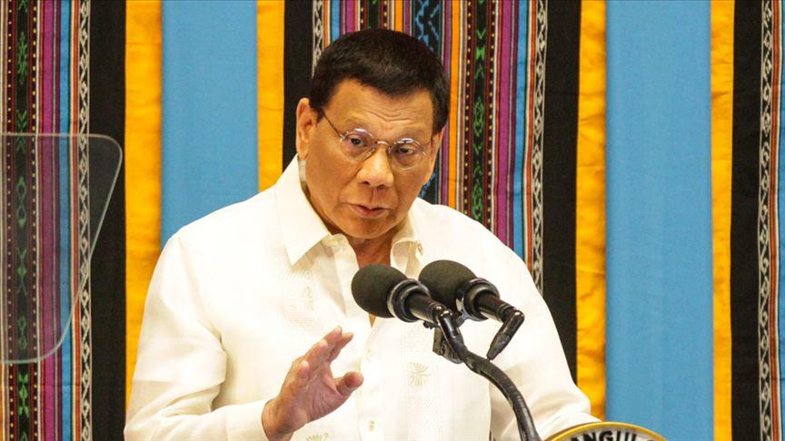 Filipinler Devlet Başkanı Duterte Kovid-19 önlemlerine uymayanları tehdit etti