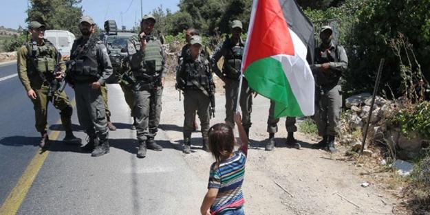 Filistin'le dayanışma günü işgali önleyemedi