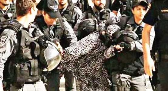 Filistinli kadınlara siyonist istismarı