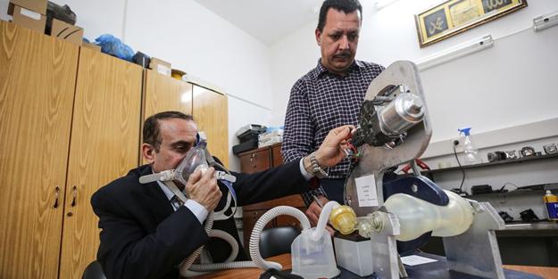 Filistinliler yerli solunum cihazı geliştirdi