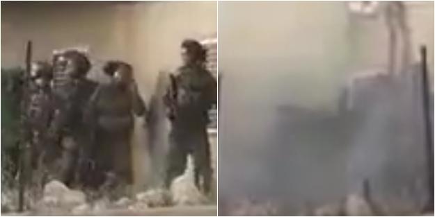 Filistinlilerden İsrail askerlerine baskın!