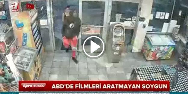 Filmleri aratmayan soygun