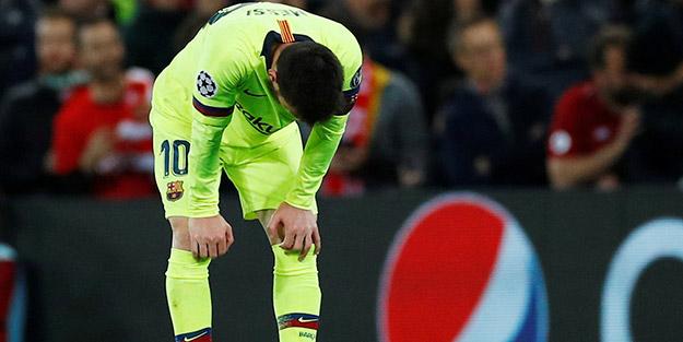 Finali göremeyen Messi yıkıldı