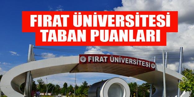 Fırat Üniversitesi taban puanları 2019