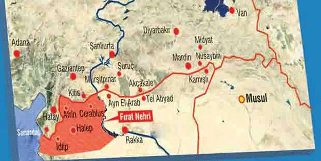 'Fırat'ın batısından Akdeniz'e kadar uzanan topraklar, Türkiye'nin yeni vilayeti olacak'