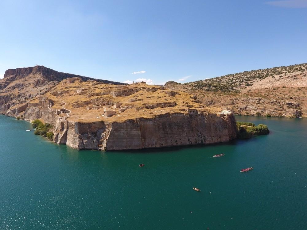 Fırat'ın incisi Rumkale bölgenin yeni turizm yüzü olacak