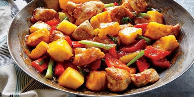 Fırında patatesli tavuk tarifi…