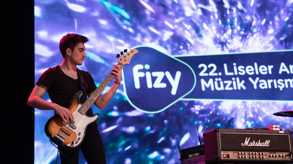 Fizy 22. Liseler Arası Müzik Yarışması'nda Eleme Heyecanı