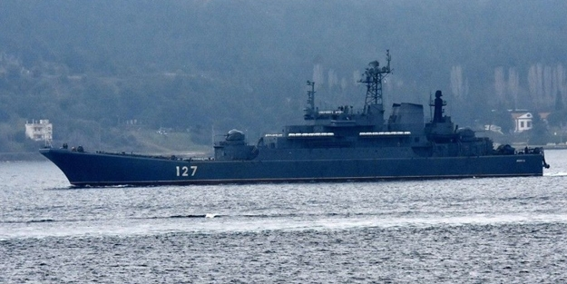 Flaş iddia! Rus savaş gemileri KKTC'ye mi gidiyor?