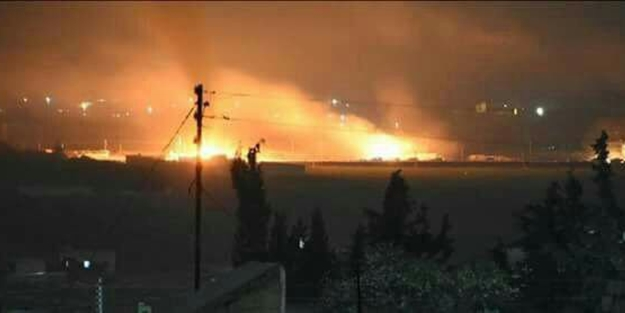 FLAŞ İDDİA: TSK, PYD/PKK'YA SİLAH TAŞIYAN ESED REJİMİ KONVOYUNU VURDU!
