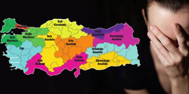 Flaş! Türkiye'nin utangaçlık haritası açıklandı!