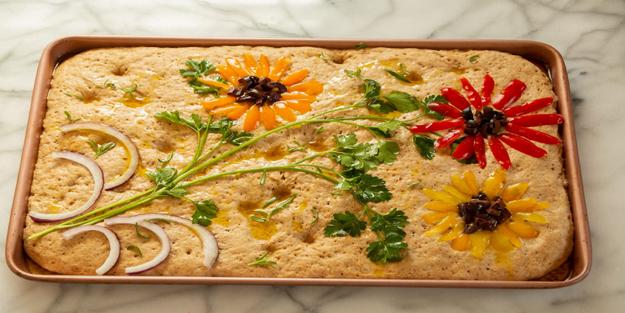 Focaccia İtalyan ekmeği tarifi Focaccia nasıl yapılır?