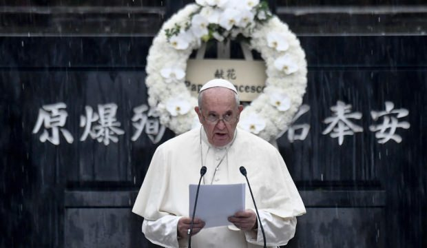 Francis'ten dünyaya nükleer silahsızlanma çağrısı