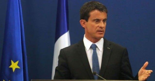 Fransa Başbakanı Valls hükümet resti çekti