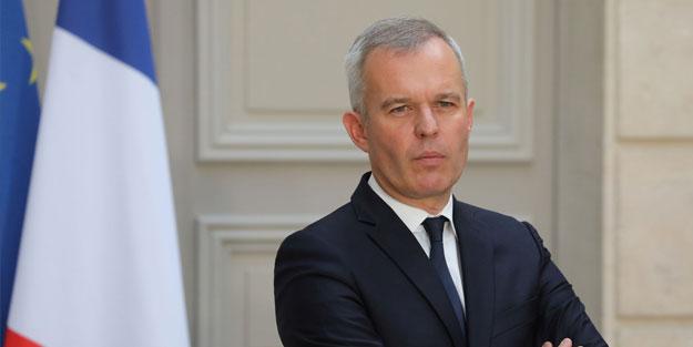 Fransa Çevre Bakanı François de Rugy istifasını sundu