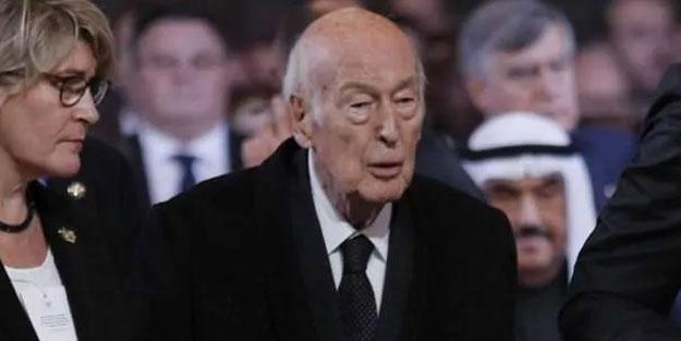 Fransa eski Cumhurbaşkanı d'Estaing öldü