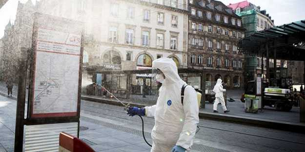 Fransa koronavirüse teslim oldu