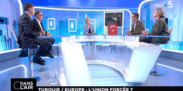 Fransa TV'sinde tarihi itiraf! Türkler Müslüman oldukları için...