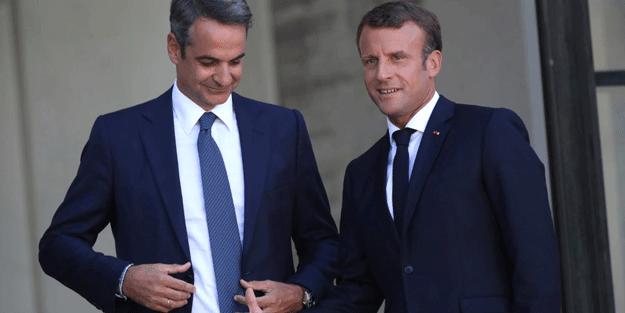 Fransa ve Yunanistan'dan ortak askeri hamle
