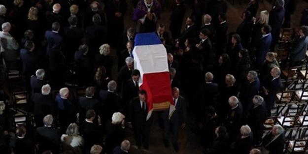 Fransa'da Chirac'a cenaze töreni!