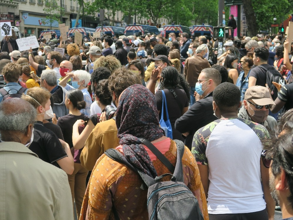 Fransa'da ırkçılık karşıtı gösteriler devam ediyor