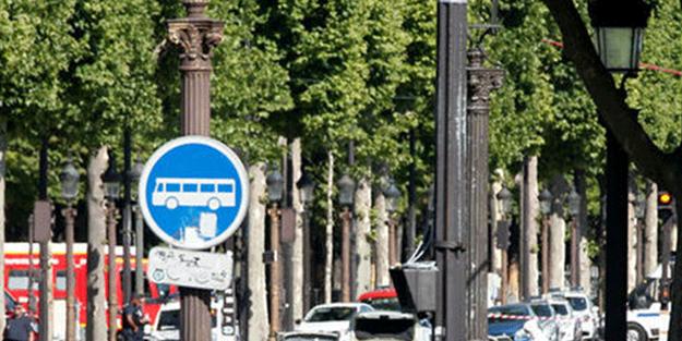 Fransa'da jandarmaya saldırı girişimi