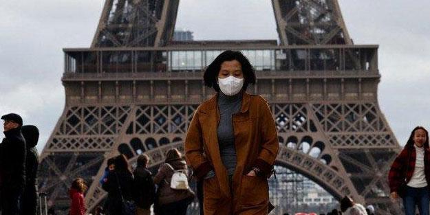 Fransa'da koronavirüs bilançosu artıyor
