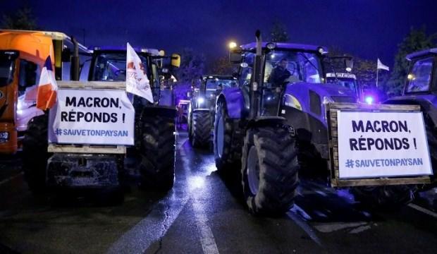 Fransa'da Macron'a karşı ayaklandılar