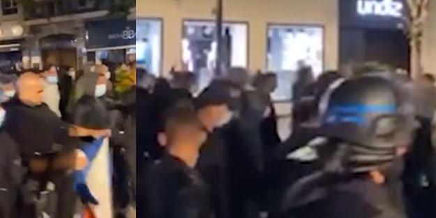 Fransa'da provokasyonlar devam ediyor
