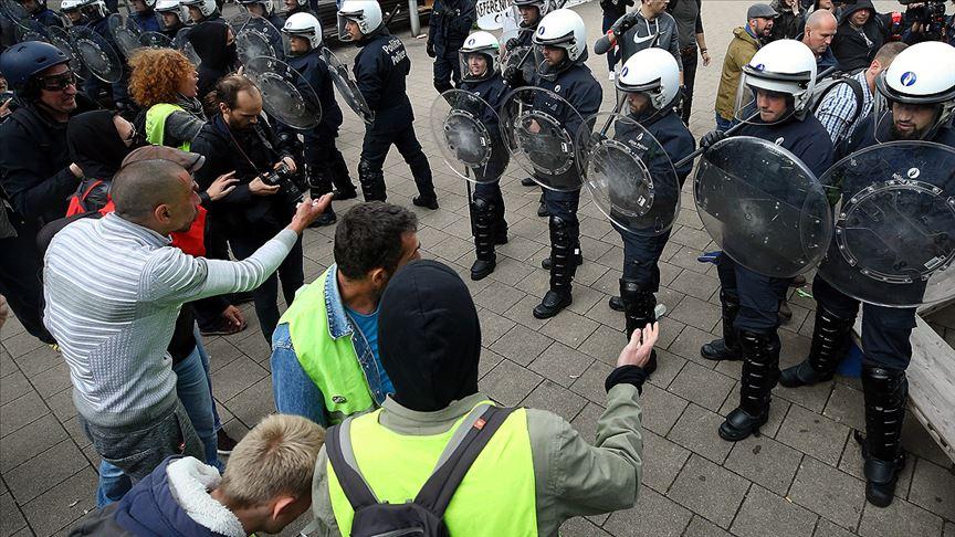 Fransa'da sarı yeleklilerin gösterileri 51. haftasında