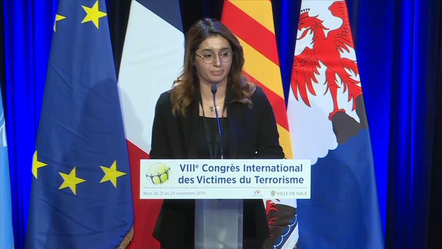Fransa'da 'Uluslararası Terör Kurbanları Kongresi' sona erdi