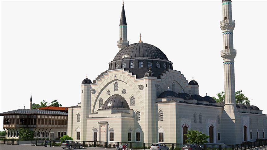 Fransa'da yükselen Avrupa'nın en büyük camisinin inşası için yardım kampanyası